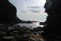 Backways Cove in North Cornwall