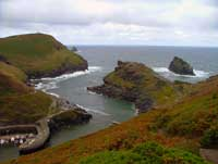 Coast path at Boscastle