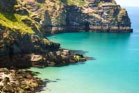 Coastline around Bossiney