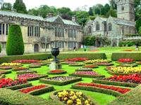 The gardens at Lanhydrock in Cornwall