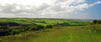 View over Trebarwith Valley from Trewarmett Downs