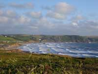 Widemouth Bay by Angela Channing